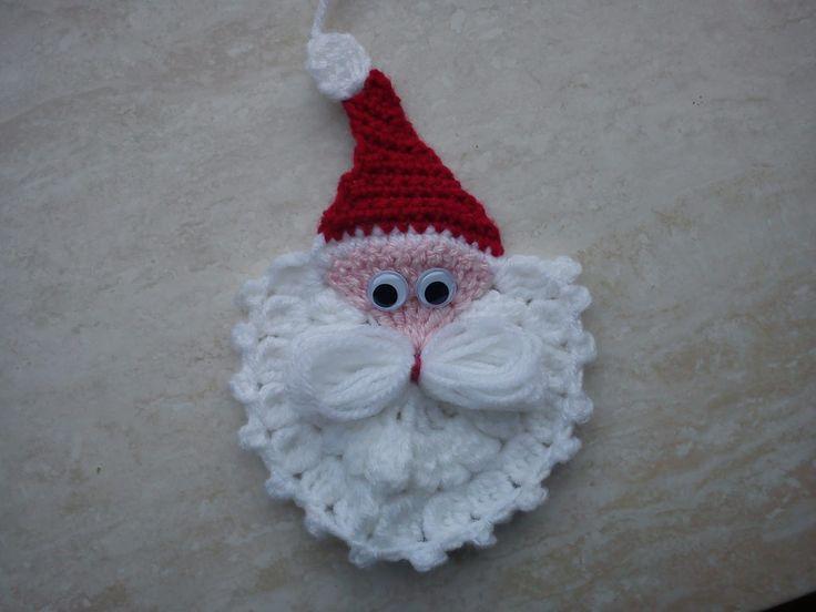 Amigurumi Crochet Christmas Ornaments : Esthers hobbypagina: nederlands patroon kerstman Hobby ...
