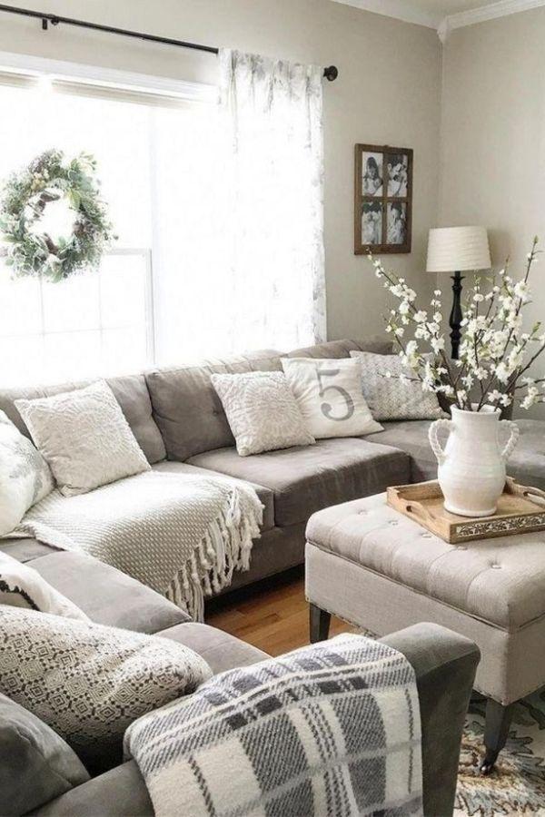Popular Modern Farmhouse Sofa Family Rooms Decor Ideas And Design