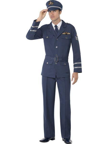 Naamiaisasu; 40-luvun lentokapteeni | Naamiaismaailma