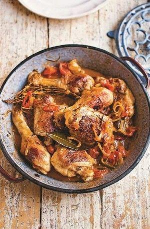 Pollo alla cacciatora by Gennaro Contaldo
