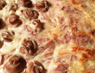 Tarte au thon et champignon (pour ceux qui aiment :)   - #cuisine #recette #food