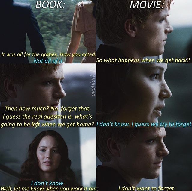 | The Hunger Games: the book vs. the movie |