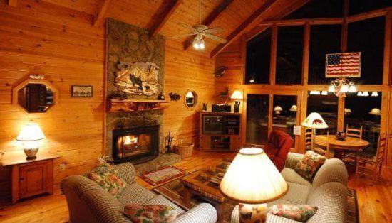 Helen, GA Cabin Rentals | No Stress | Great Rustic 3 Bedroom Cabin