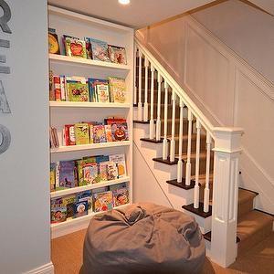 Basement Playroom - Contemporary - basement