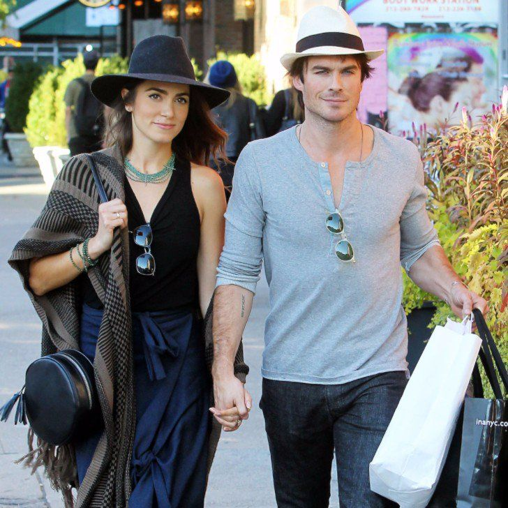 Ian Somerhalder and Nikki Reed Bump Into Famous Pals During an NYC Stroll