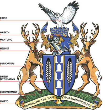 Heraldry is the practice of devising, granting, displaying, describing, and recording coats of arms and heraldic badges...
