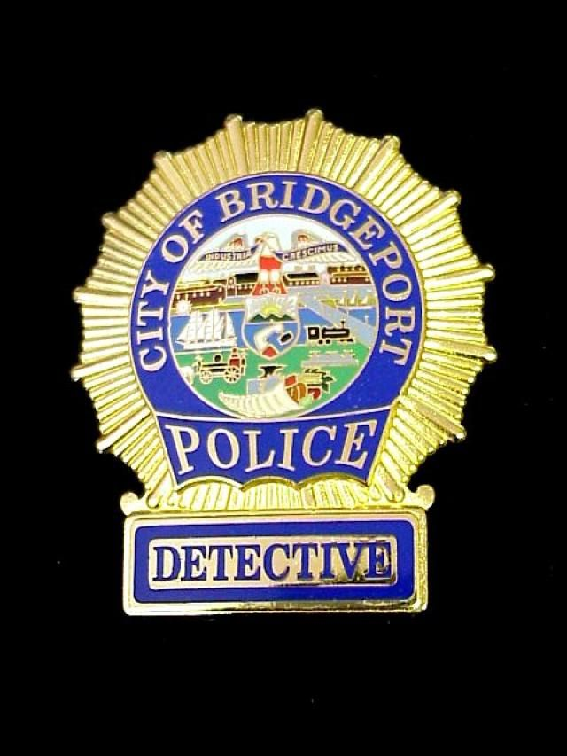 Us State Of Connecticut City Of Bridgeport Police Department Detective Badge Police Detective Police Police Badge