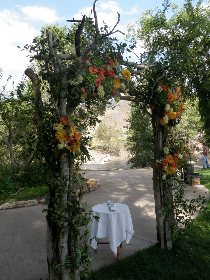Pin by nancy ziegler on cermony country wedding arches