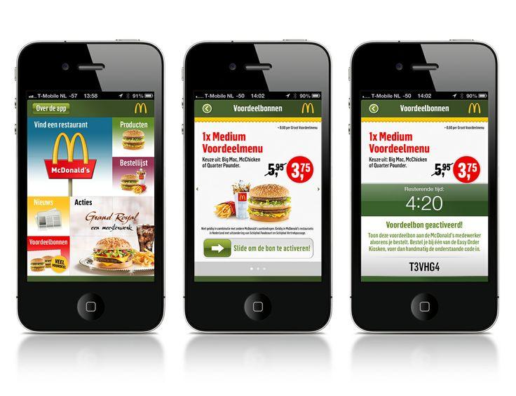 Mobile App Coupons McDonalds Netherlands Apps, Mcdonalds