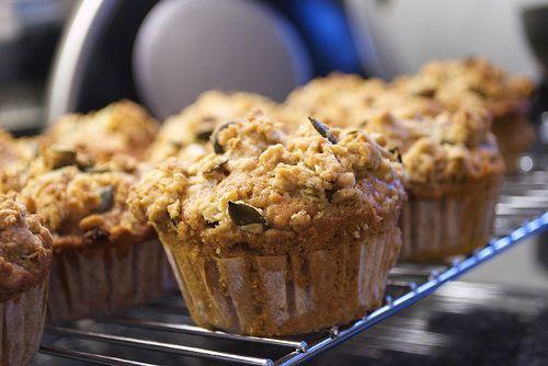 Muffins alle arachidi e mou
