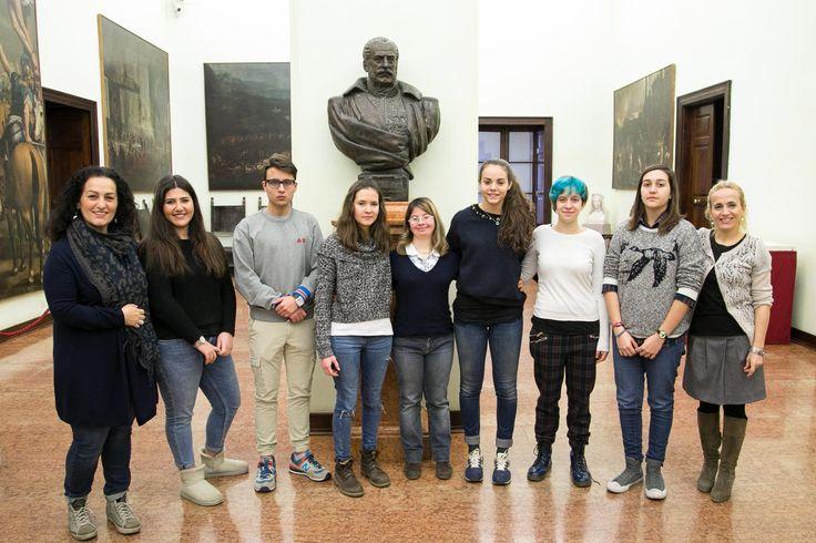 19 Febbraio: benvenuti ai 100 studenti delle superiori di Parma, collaboratori in Comune all'interno delle iniziative delle Legge sulla 'Buona scuola'.