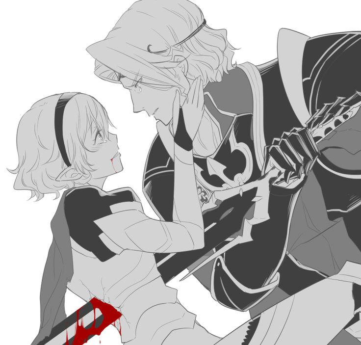 Fire Emblem: If/Fates - Marx and Kamui  I don't ship this but I like the blood effects and it's frickin angsty