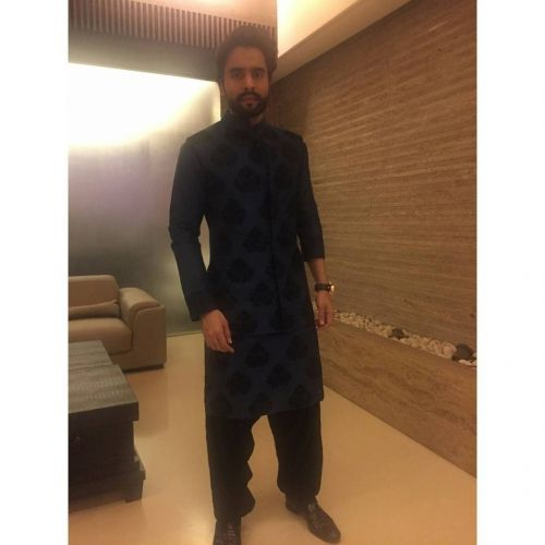 Jackky Bhagnani in an Outfit by Manish Malhotra
