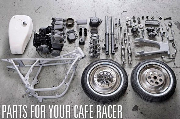 Cafe Racer parts and accessories ONLINE SHOP LIST~ Return of the Cafe Racers