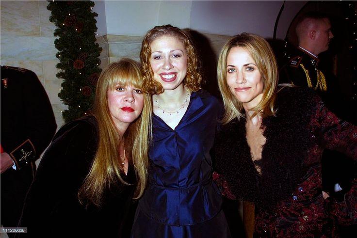 DEC 2000 Sheryl, Stevie Nicks & Chelsea Clinton