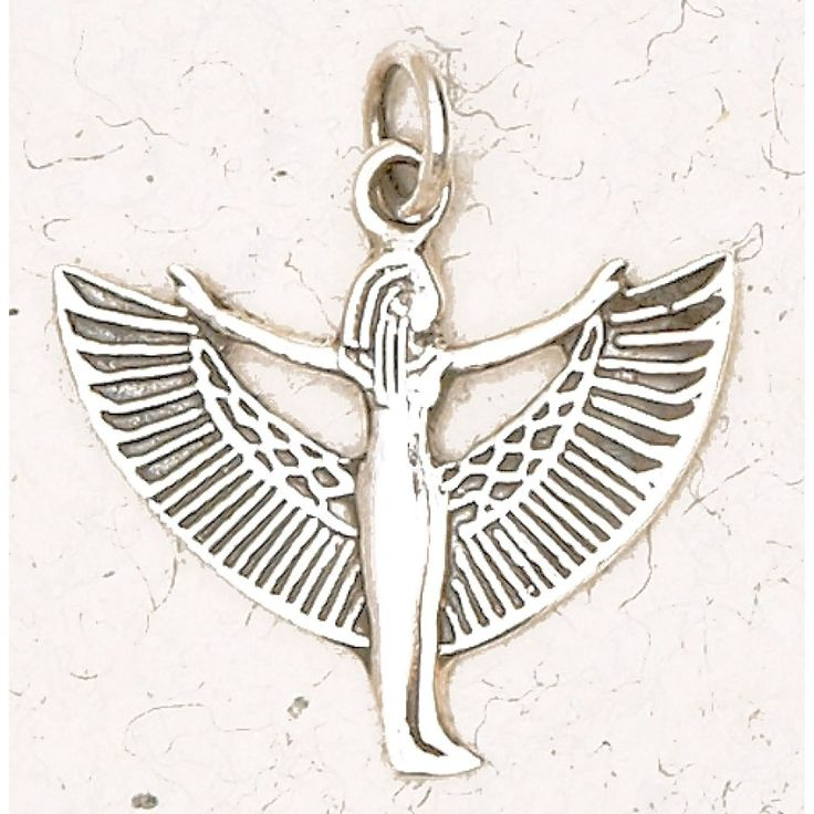 Superstar Nude Winged Isis Charm Scenes