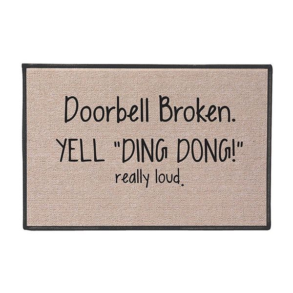 Ding Dong - 15 Doormats That Do All The Talking - Photos