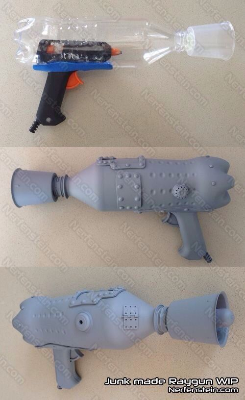 Awesome DIY bottle Gun Super Easy #Musely #Tip