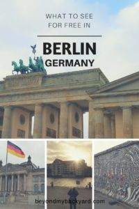 We had only one day to explore Berlin and a tight budget. Berlin is full of history and culture. It was a great place to walk and see sights for free.