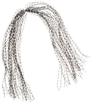 Montana Fly Company Round-Rubber Centipede Legs - Medium - Speckled White