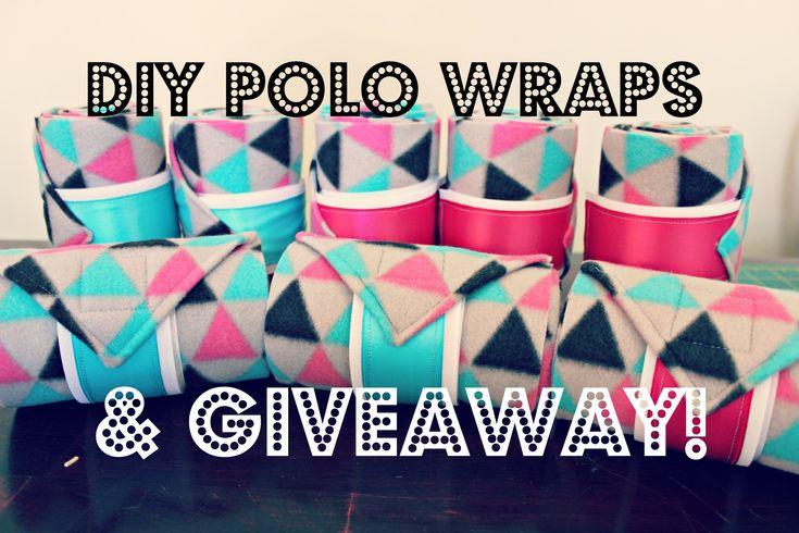 DIY polo wraps. Best tutorial I have found!