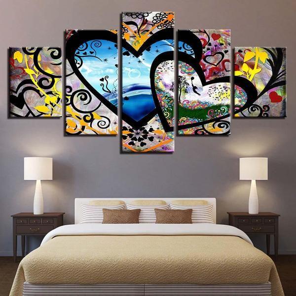 Lovers Canvas Set Wall Canvas Canvas Wall Art Framed Wall Art
