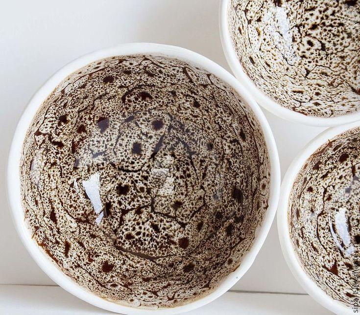 """Купить Комплект пиал """"Перепёлочки"""" - керамика ручной работы, пиала, керамическая посуда, авторская керамика"""