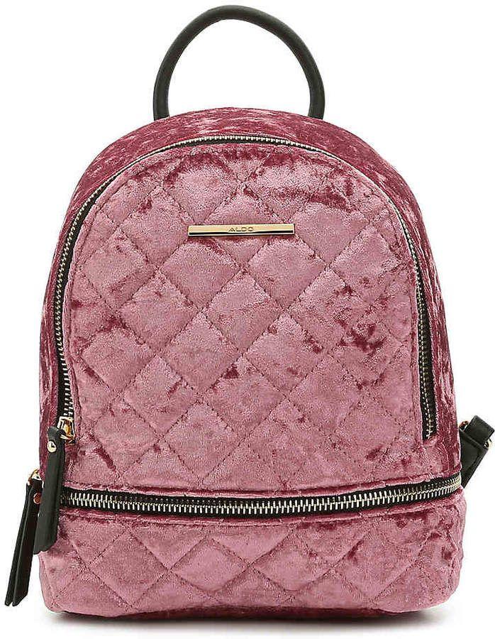 Aldo Women s Edroiana Velvet Mini Backpack Aldo Bags ca0c237c26408