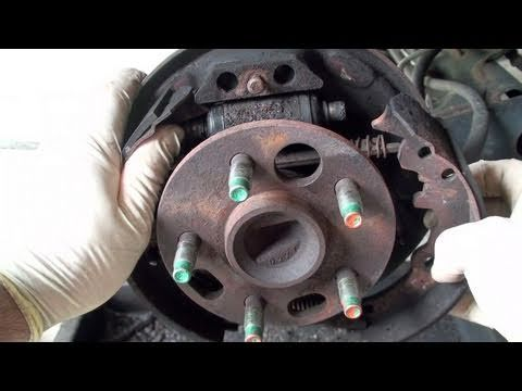 How To Replace Drum Brake Shoes (Full) - EricTheCarGuy - http://www.thehowto.info/how-to-replace-drum-brake-shoes-full-ericthecarguy/