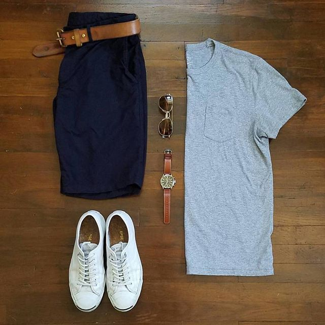 Outfit grid - Summertime style