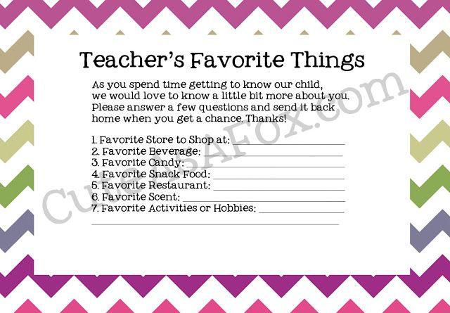 19 - Cute as Fox - Teacher Favorite THings