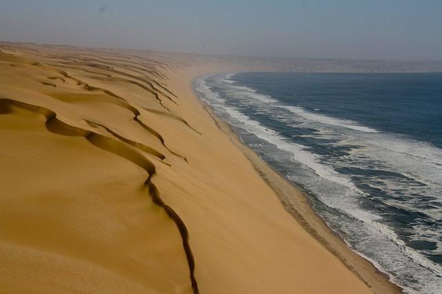 Namibian desert meets the coast