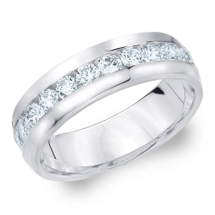 100 Karat Diamant Herren Ring 58514K Weigold Ein