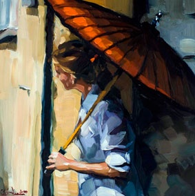 Das Maedchen mit dem roten Schirm - Edward B Gordon