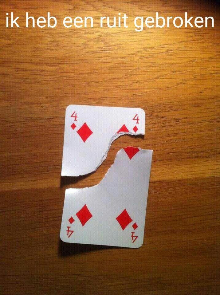 Ruit gebroken