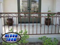 Wrought Iron Balconies from Olson Iron. #olsoniron
