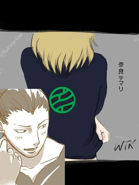 Shikamaru and temari hot