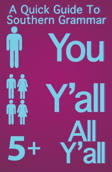 You. Yall. All yall.Funny Pictures, Down South, Southern Grammar, Texas, Southerngrammar, Southern Girls, Grammar Lessons, True Stories, Yall