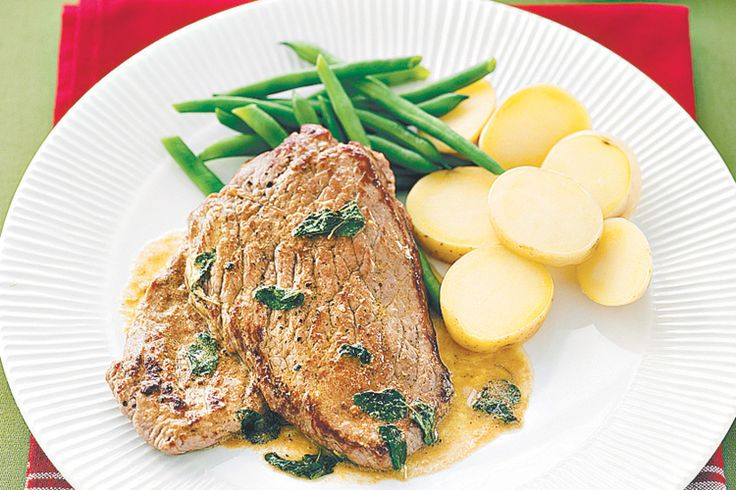 Veal with Lemon and Oregano