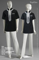 Spa 66 - Male Shirt: M90495A Pants: M80313, Tunic: F880476A Pants: F80328 Kind of like this for a uniform
