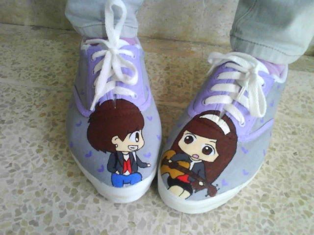 Yongseo couple shoes!!!