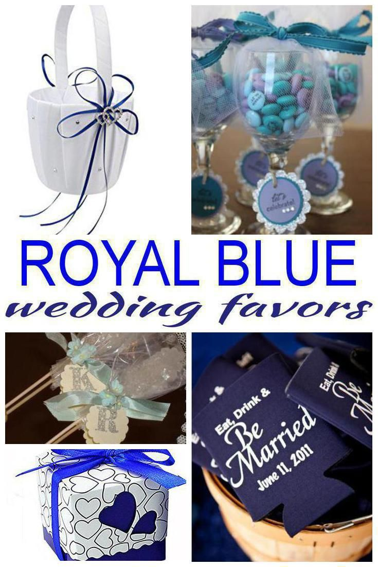 Royal Blue Wedding Favors Blue Wedding Favors Royal Blue Wedding Favors Wedding Favors Fall