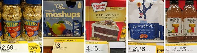 More New Price Cuts & Target Deals in Grocery