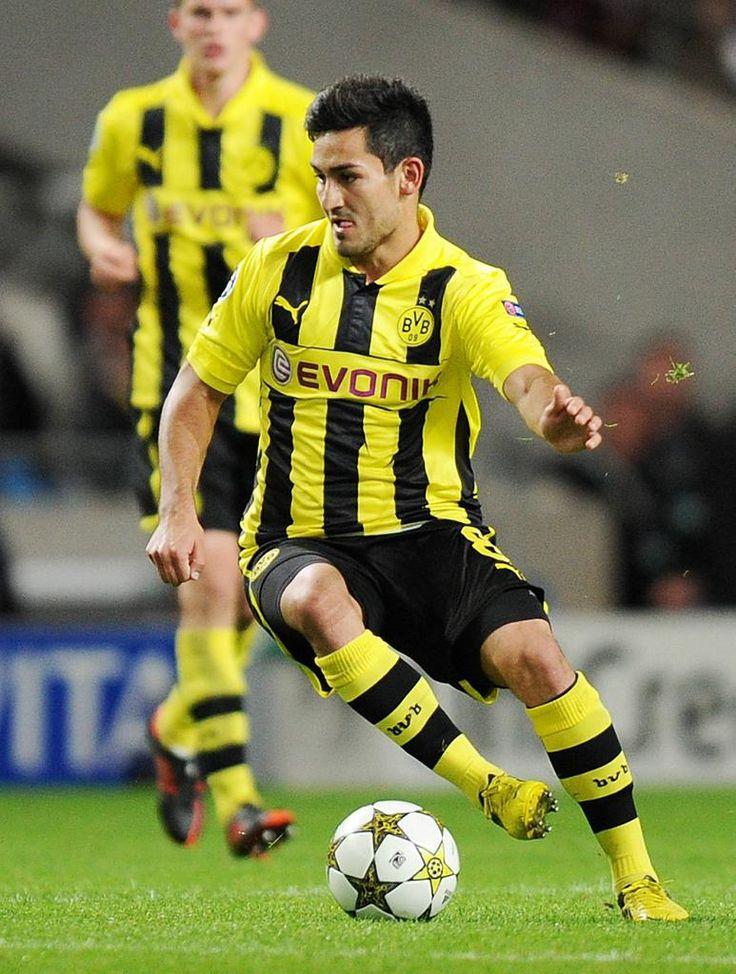 İlkay Gündoğan (Germany) - Nürnberg, Borussia Dortmund.