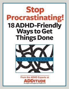 Procrastination is part of the ADHD experience. Last-minute pressure inspires us at times, but it also stresses us out. Don't beat yourself up; instead, follow these easy strategies for starting (and finishing!) any task — even when you really don't want to. #organizingyourhome #organizingclutter #decluttermyhouse