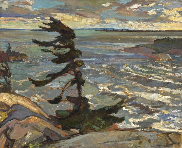 Tom Thomson: Stormy Day at Georgian Bay