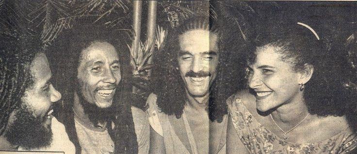 Pessoas incríveis juntas | Jacob Miller, Bob Marley, Moraes Moreira e Marina...