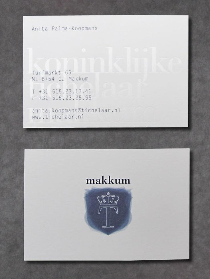27 best visitekaartjes drukken images on pinterest business cards visitekaartje makkum tichelaar identity brandingbusiness cardslipsense reheart Image collections