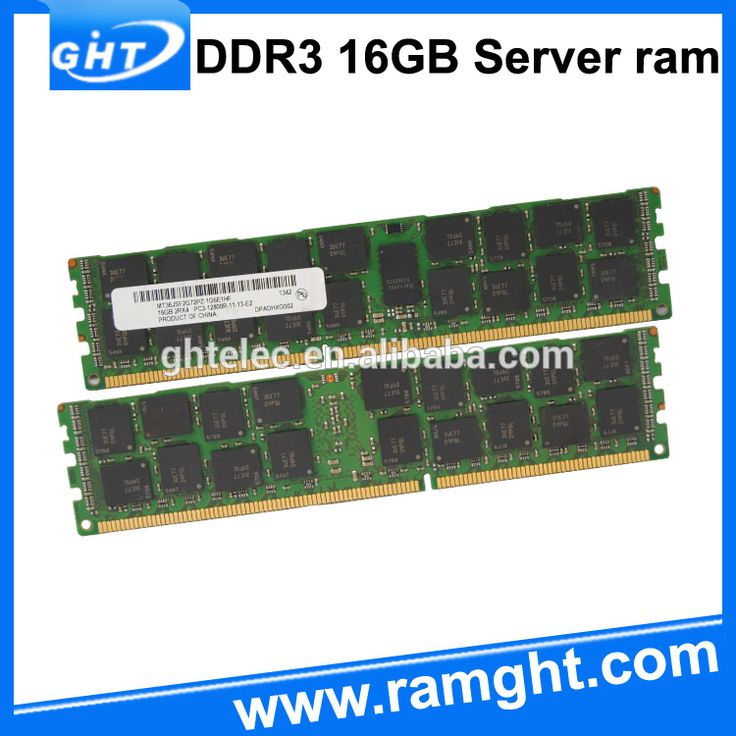 Server Application and REG ECC Function 1600mhz ddr3 16gb ram price