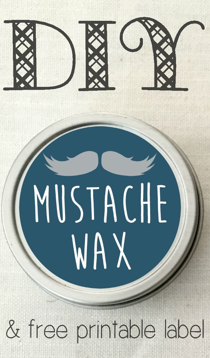 Beards are a total trend lately - and for good reason, they're awesome! But they also require some upkeep, and this DIY mustache wax is perfect as a styling balm, to condition facial hair, and tame frizz! (And it's not JUST for your mustache!) It also makes for a lovely homemade gift.